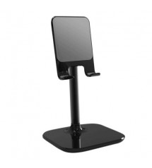 Suport birou SIMPLE pentru telefon sau tableta, Negru