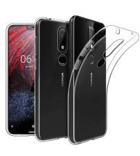 Husa Nokia 3.1 Plus Slim TPU, Transparenta