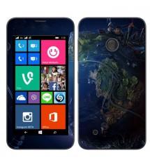 Skin cu aspect modern pentru Nokia Lumia 530 - Space