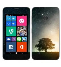 Skin cu aspect modern pentru Nokia Lumia 530 - Stars