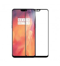 Folie sticla securizata tempered glass OnePlus 6, Black
