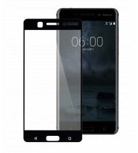 Folie sticla securizata tempered glass Nokia 6.1 (2018), Black