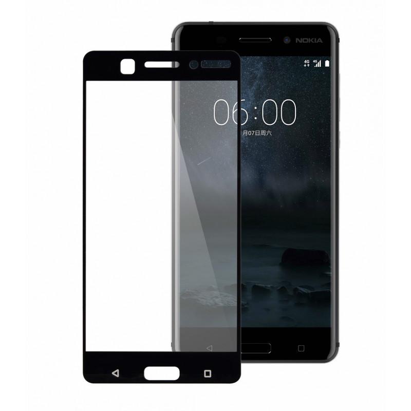 Folie sticla Nokia 6.1 2018 Black, Folii Nokia - TemperedGlass.ro