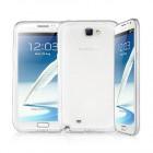 Husa de protectie Slim TPU pentru Samsung Galaxy Note 2, Transparenta