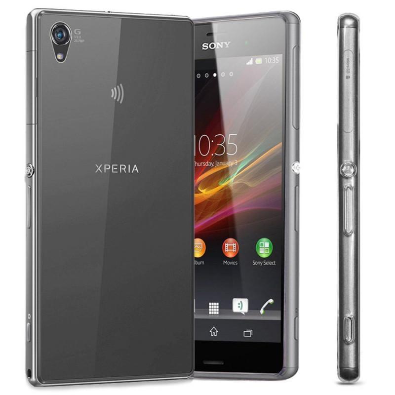Husa Sony Xperia Z3 transparenta, Huse Sony - TemperedGlass.ro