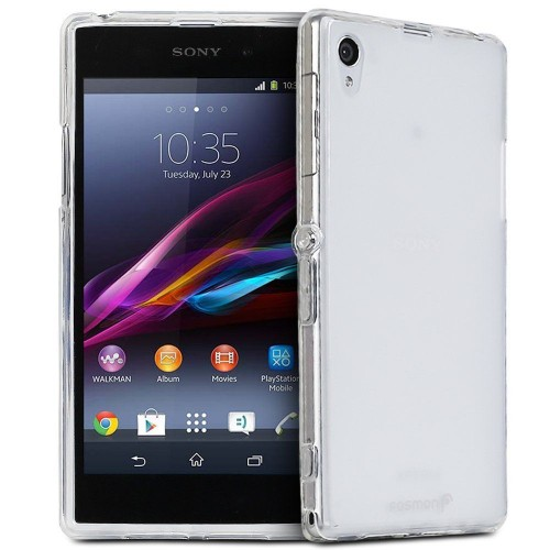 Husa Sony Xperia Z1 transparenta, Huse Sony - TemperedGlass.ro