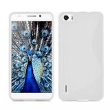 Husa de protectie Slim TPU pentru Huawei Honor 6, Transparenta