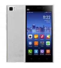 Husa de protectie Slim TPU pentru Xiaomi Mi3, Transparenta [Promo DoubleUP]