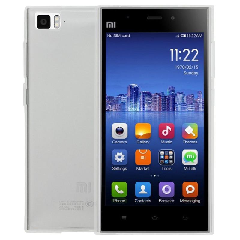 Husa Xiaomi Mi3 transparenta, Huse Xiaomi - TemperedGlass.ro