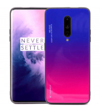 Husa OnePlus 7 Pro Gradient Glass, Blue-Purple