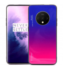 Husa OnePlus 7T Gradient Glass, Blue-Purple