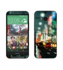 Skin cu aspect modern pentru HTC One M8 - City Lights