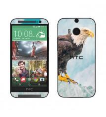 Skin cu aspect modern pentru HTC One M8 - Eagle