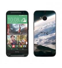 Skin cu aspect modern pentru HTC One M8 - Earth