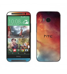 Skin cu aspect modern pentru HTC One M8 - Galaxy