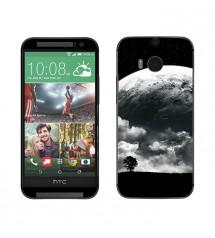 Skin cu aspect modern pentru HTC One M8 - Moon