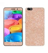 Skin fashion GLITTER pentru Huawei Honor 4X - Gold