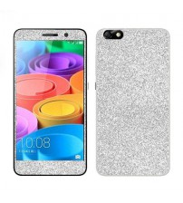 Skin fashion GLITTER pentru Huawei Honor 4X - Silver
