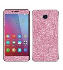 Skin fashion GLITTER pentru Huawei  5X - Pink