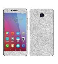 Skin fashion GLITTER pentru Huawei  5X - Silver