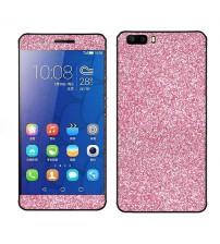 Skin fashion GLITTER pentru Huawei Honor 6 - Pink