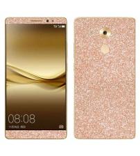 Skin fashion GLITTER pentru Huawei  Mate 8 - Gold
