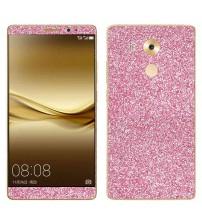 Skin fashion GLITTER pentru Huawei  Mate 8 - Pink