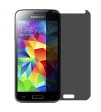 Folie protectie PRIVACY sticla securizata Samsung Galaxy S5 Mini