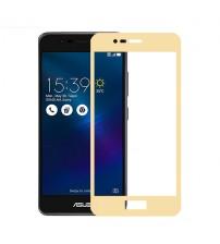 Folie protectie sticla securizata Asus Zenfone 3 Max ZC520TL Gold