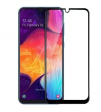 Folie sticla securizata tempered glass Samsung Galaxy A50, Black