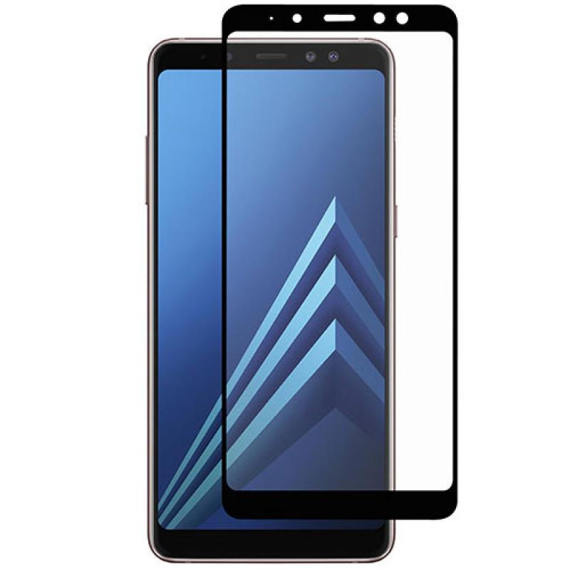 Folie sticla Samsung A7 2018 Black, Folii Samsung - TemperedGlass.ro