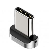 Adaptor cablu magnetic fast charge Type-C 1m Baseus, Negru