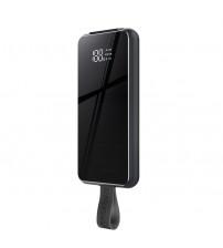 Baterie Externa Remax 10000mAh 18W, Wireless Charger Qi 10W, Black