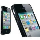 Bumper metalic pentru iPhone 4 / 4S - Negru