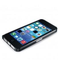 Bumper metalic pentru iPhone 5C - Negru