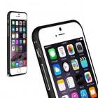 Bumper metalic pentru iPhone 6 - Negru