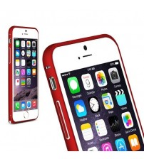 Bumper metalic pentru iPhone 6 - Rosu
