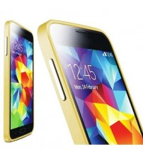 Bumper metalic pentru Samsung Galaxy S5 / S5 Neo - Auriu