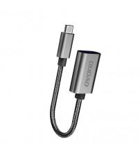 Cablu adaptor OTG Micro USB, 17 cm, Dudao L15M, negru
