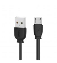 Cablu micro USB 1m REMAX Suji RC-134m, Negru