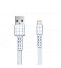 Cablu USB Lightning 1m REMAX Armor Series RC-116i, Alb