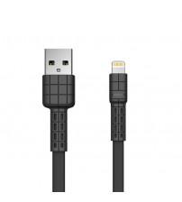 Cablu USB Lightning 1m REMAX Armor Series RC-116i, Negru