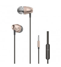 Casti Dudao X2 Pro, In-Ear, Jack 3.5mm, Microfon, Gold