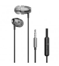 Casti Dudao X2 Pro, In-Ear, Jack 3.5mm, Microfon, Gray