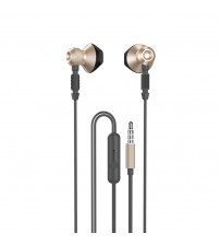 Casti Dudao X2C, In-Ear, Jack 3.5mm, Microfon, Gold