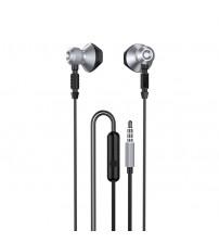 Casti Dudao X2C, In-Ear, Jack 3.5mm, Microfon, Grey