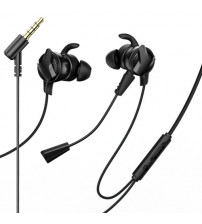 Casti In-Ear cu microfon Baseus Gamo H15 3.5mm Jack, Black
