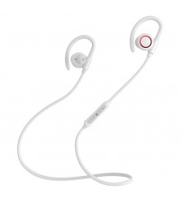 Casti in-ear wireless cu microfon Baseus Encok Sports S17 waterproof, White