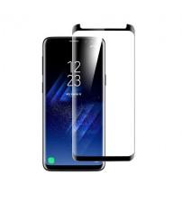Folie protectie mata ANTIREFLEX din sticla securizata Samsung Galaxy S9 3D Black