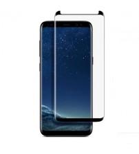Folie protectie mata ANTIREFLEX din sticla securizata Samsung Galaxy S9 Plus 3D Black